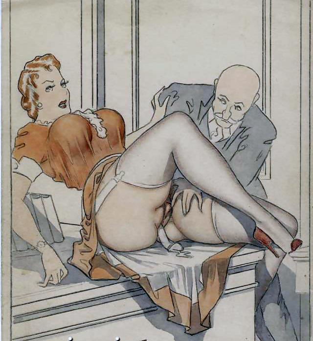 Рисуем ретро порно — pic 15