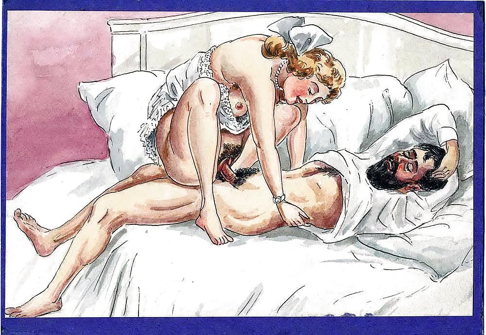 Cartoon erotic vintage