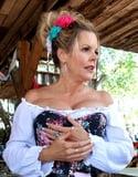 Mature ladies braless cleavage pokies 36