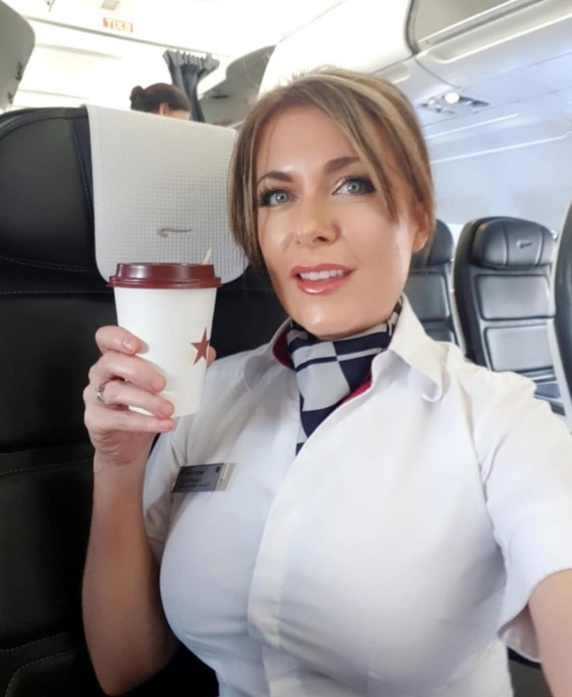 A Very Special Hostess Porn see and save as beautiful busty british airways air hostess