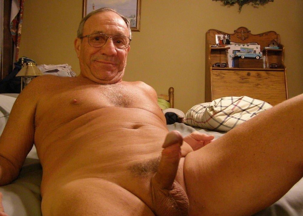 Hot Older Man Nude