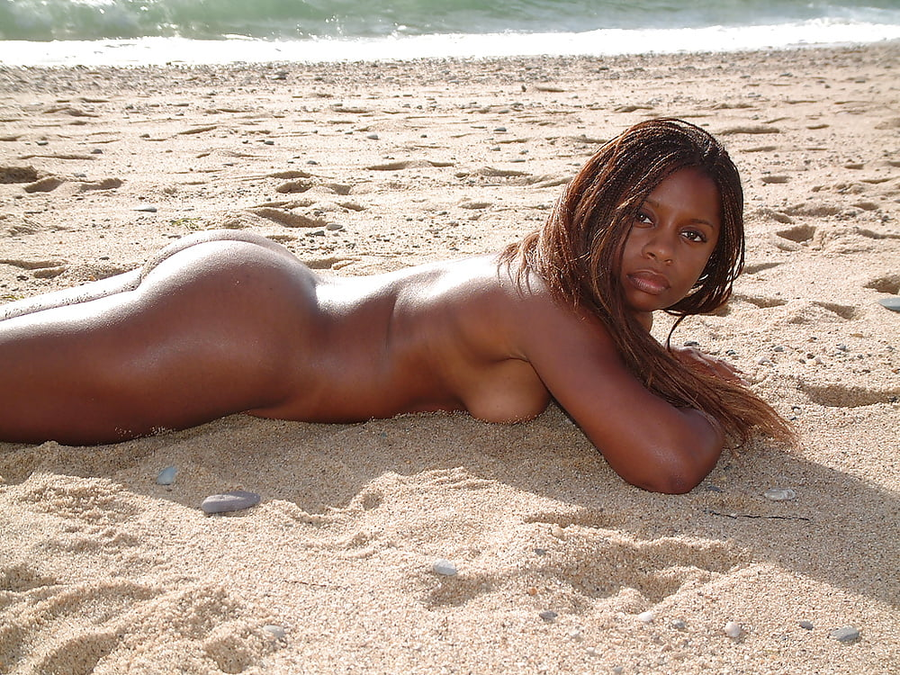 Naked black girls nude beach