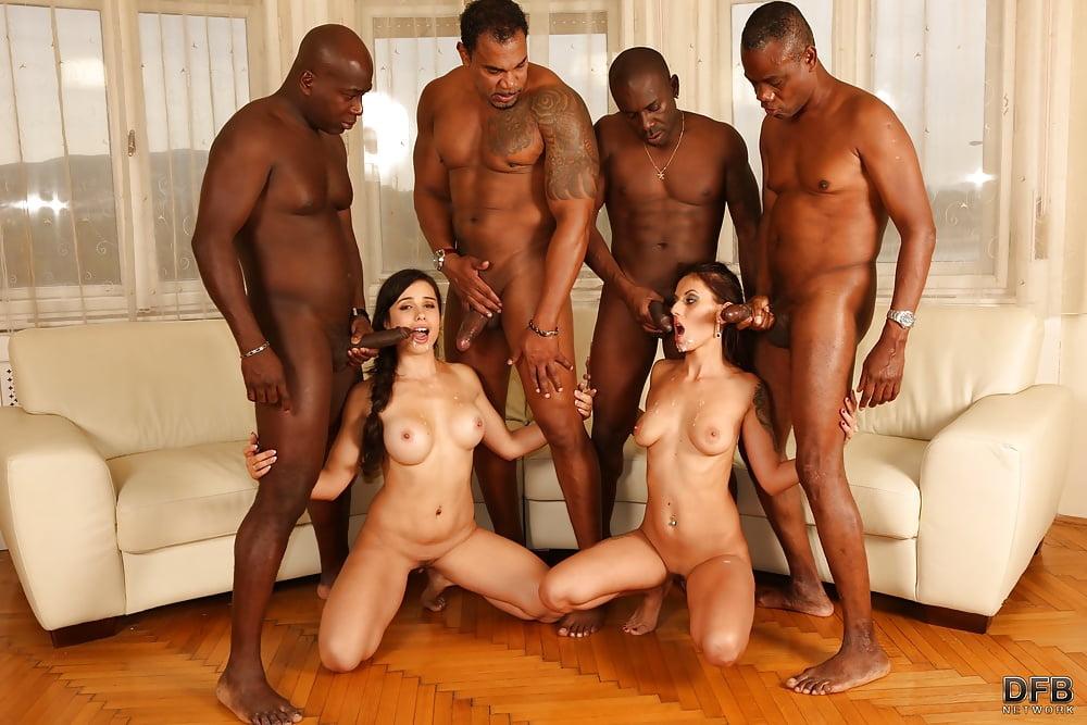 Group interracial sex sex 12