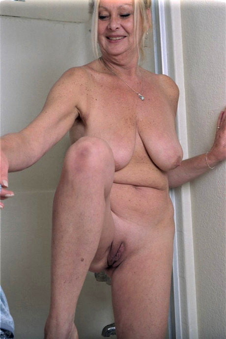 Bathroom category of this granny porn site