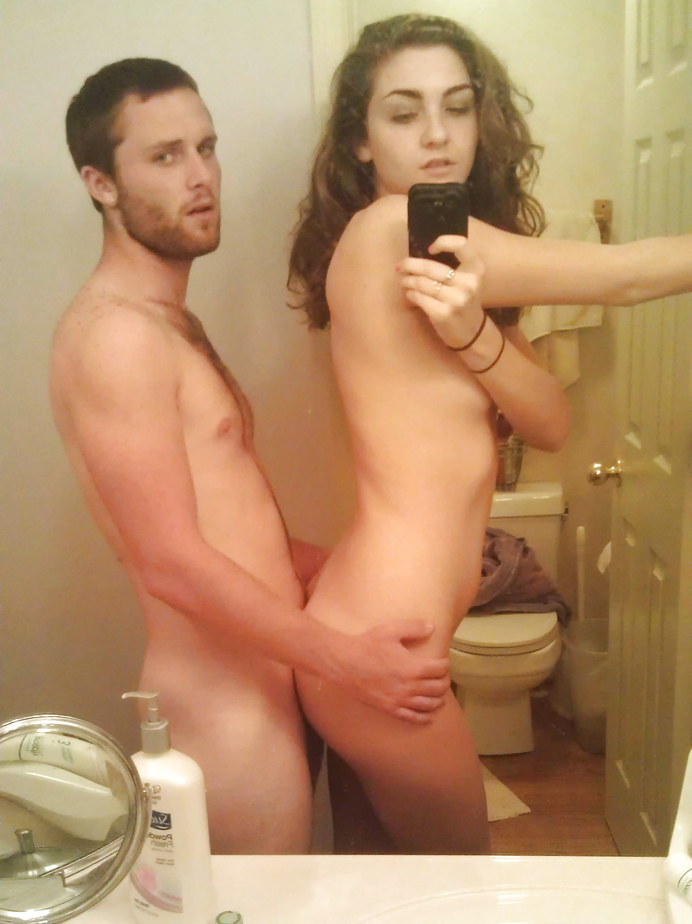 Couple Fucking Self Shot