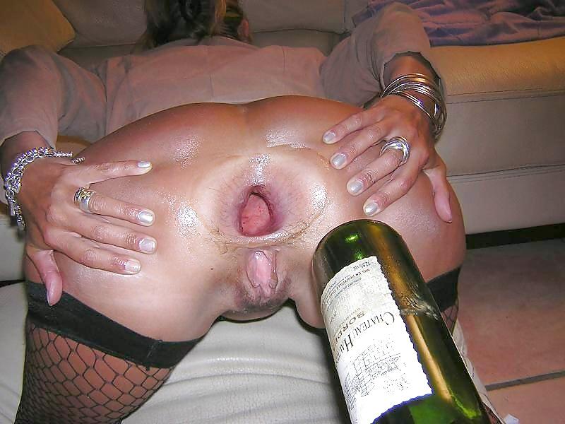 Big bottle insertion