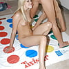 Playing Twister, Upskirt, Nude and Downblouse 3