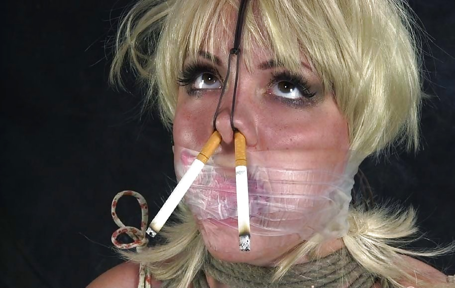 Forced smoking