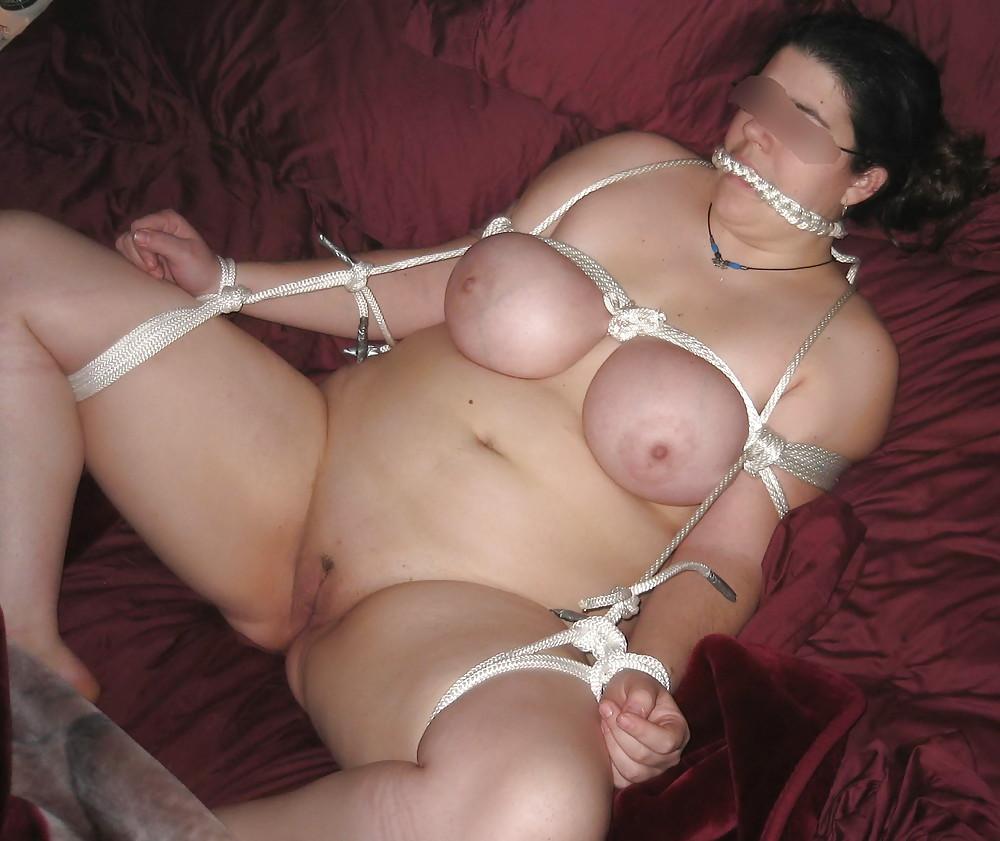 Big tits milf in bondage butt fucked