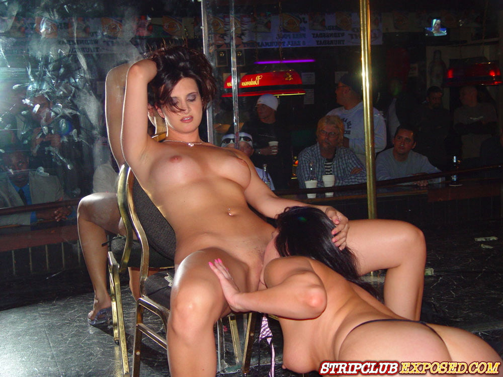 Pussy fucked at nude strip club — photo 15