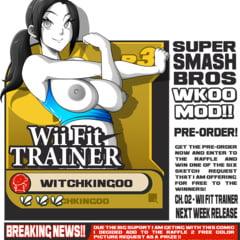 Wii Fit Trainer Art
