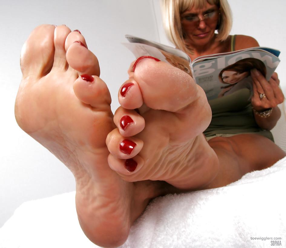 Фото фетиш ног зрелых дам — pic 5