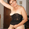 Hairy Mature - Lingerie