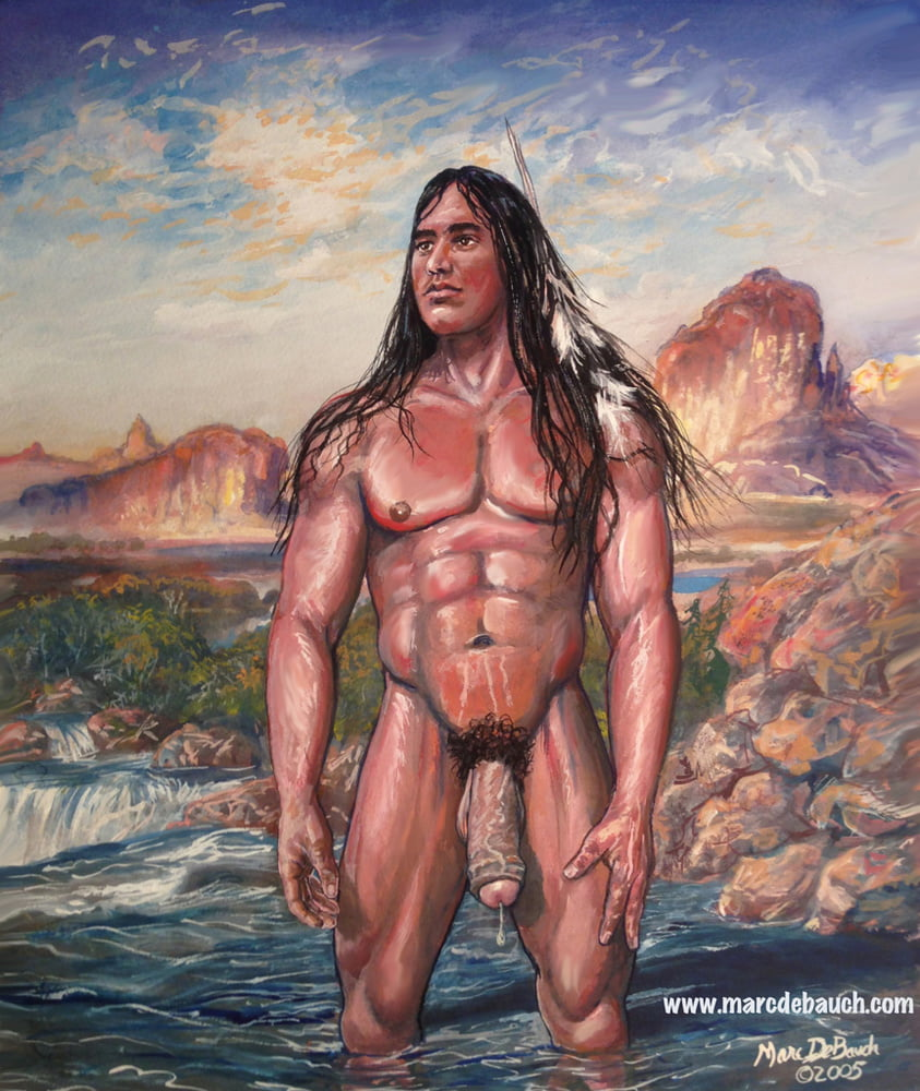 Naked native american indian women