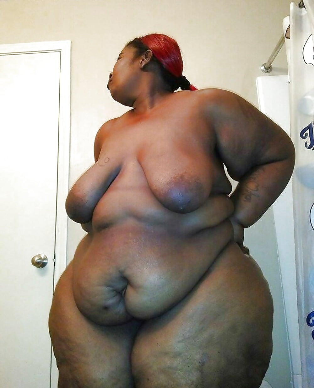 Sexy black curvy bbw woman cartoon stock vector