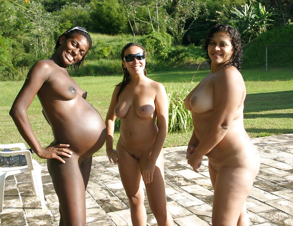 Nude pregnant women south american