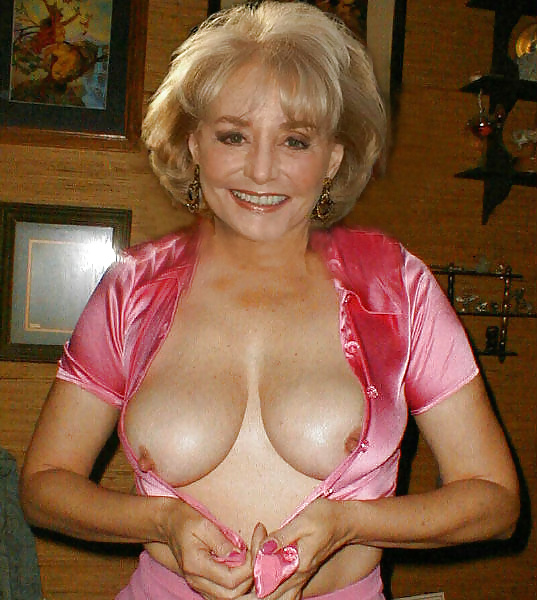 fake nude pics of barbara walters