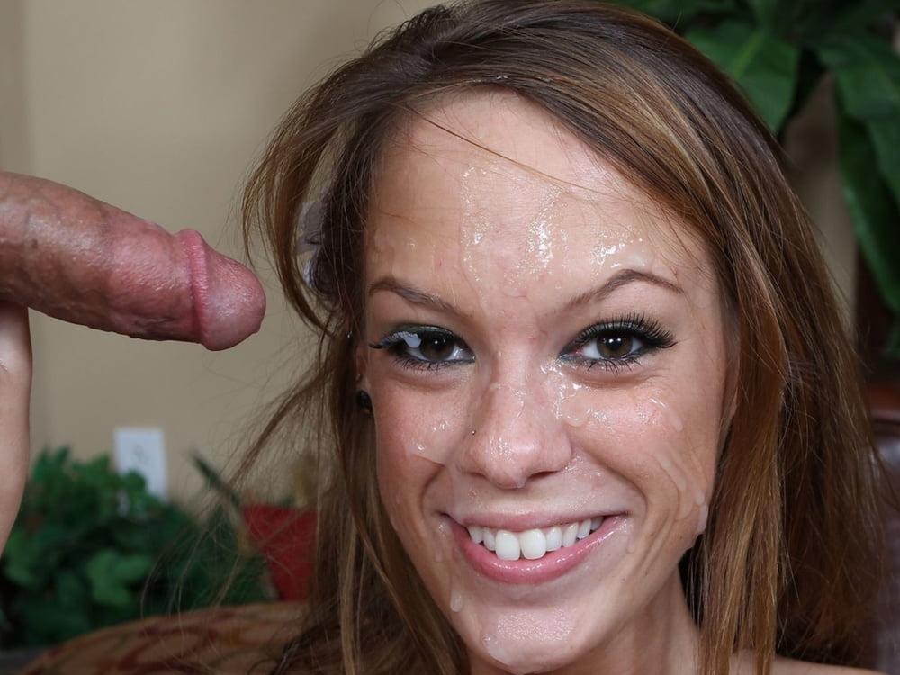 Amateur Huge Facial Cum