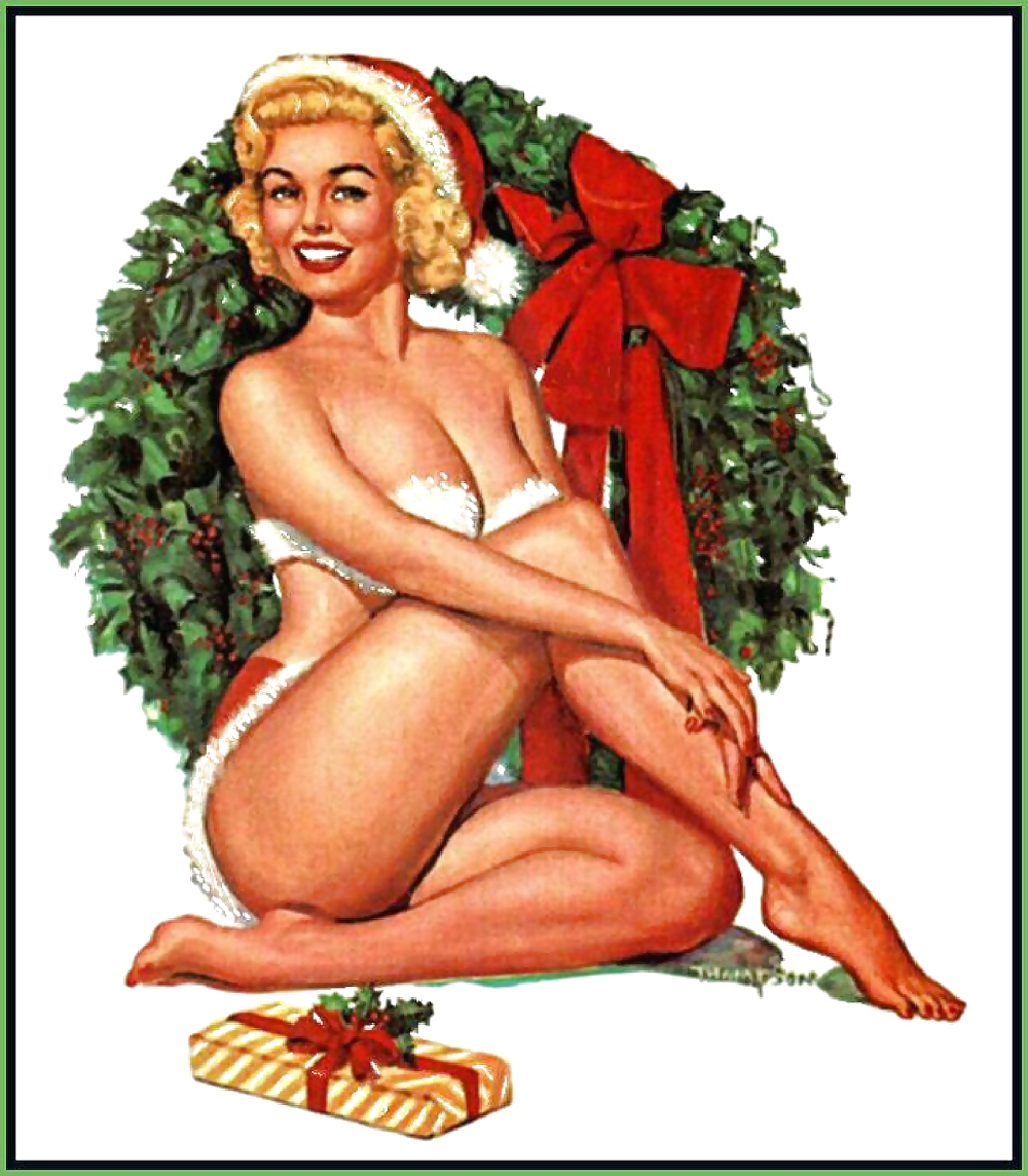 Naked Playboy Chirstmas Moodel Pictures