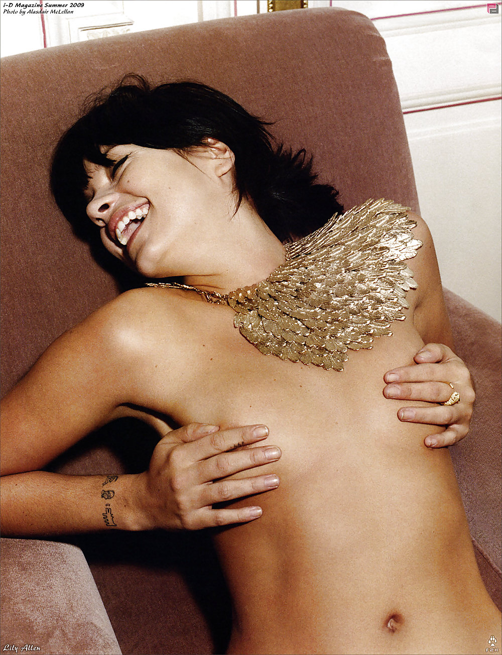 Lily allen nude video — img 4