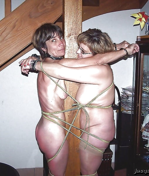 Grannies in bondage
