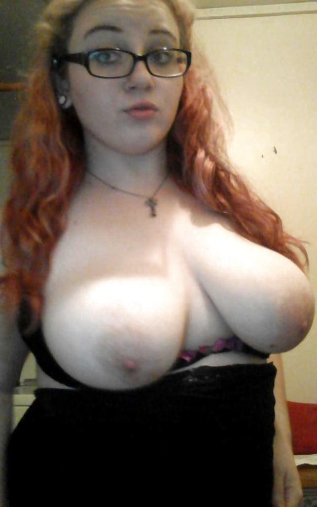 Nerdy girls with big tits