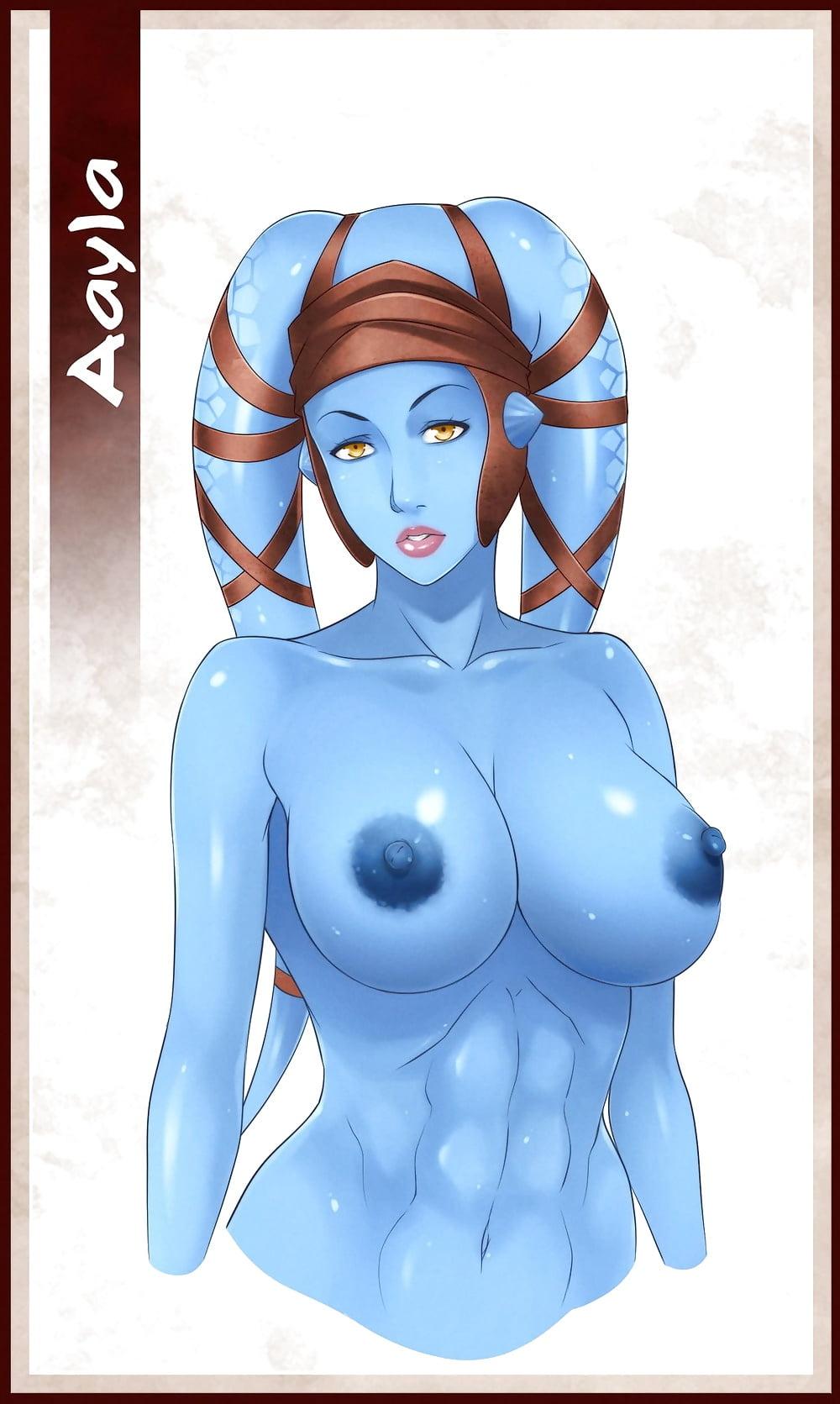 Nude star wars hentai aayla secura porn