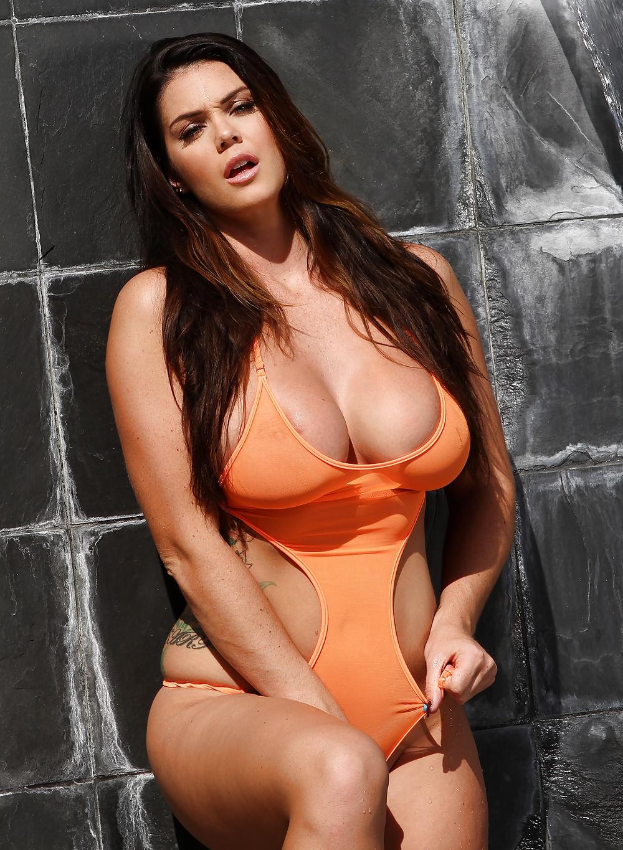 Orange adidas bodysuit