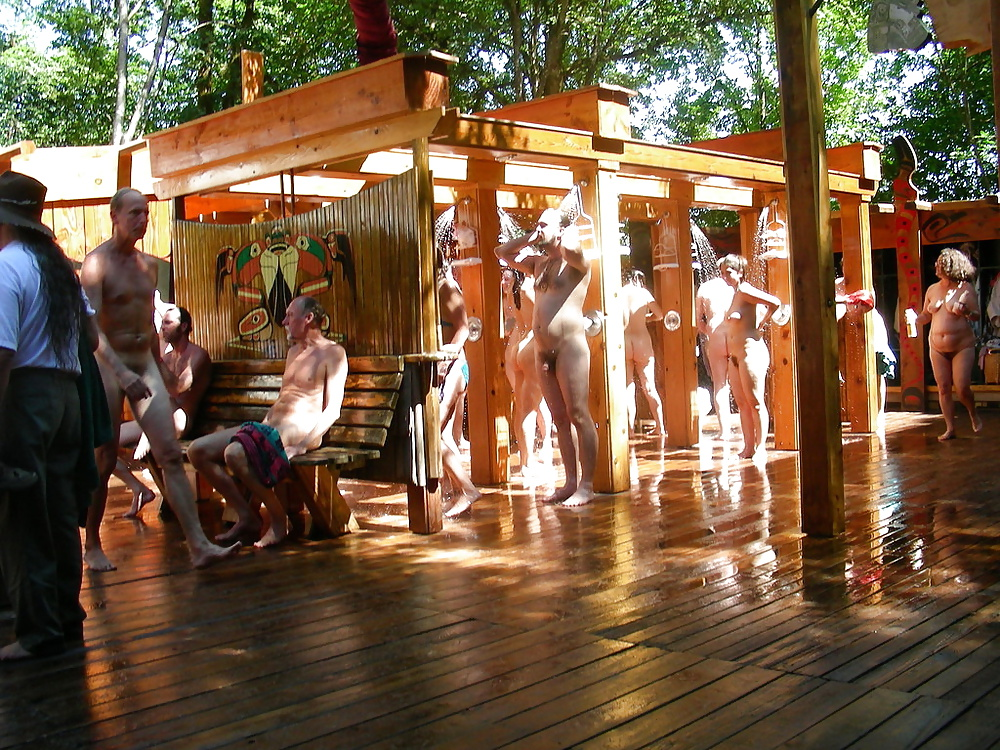 Sisters camp shower nude fucked donkey photo
