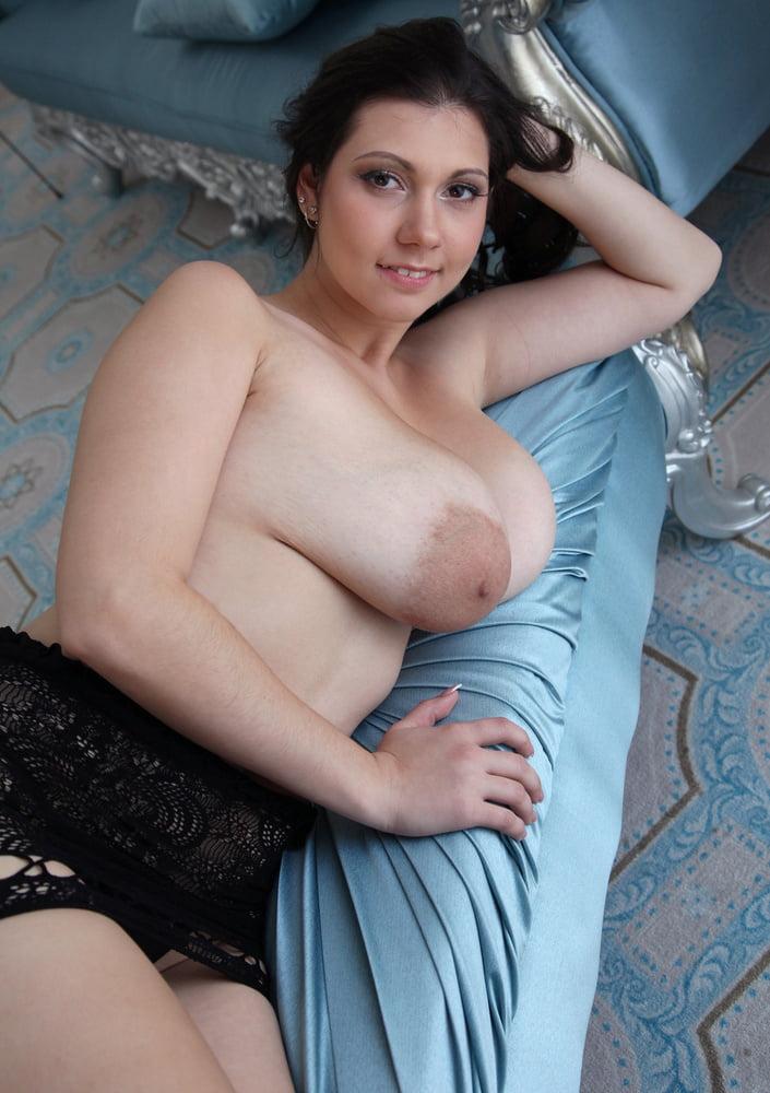 Lina- big saggy tits and huge areolas - 62 Pics