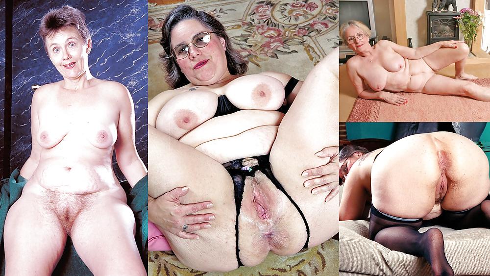 Yo grandma slut with had tits
