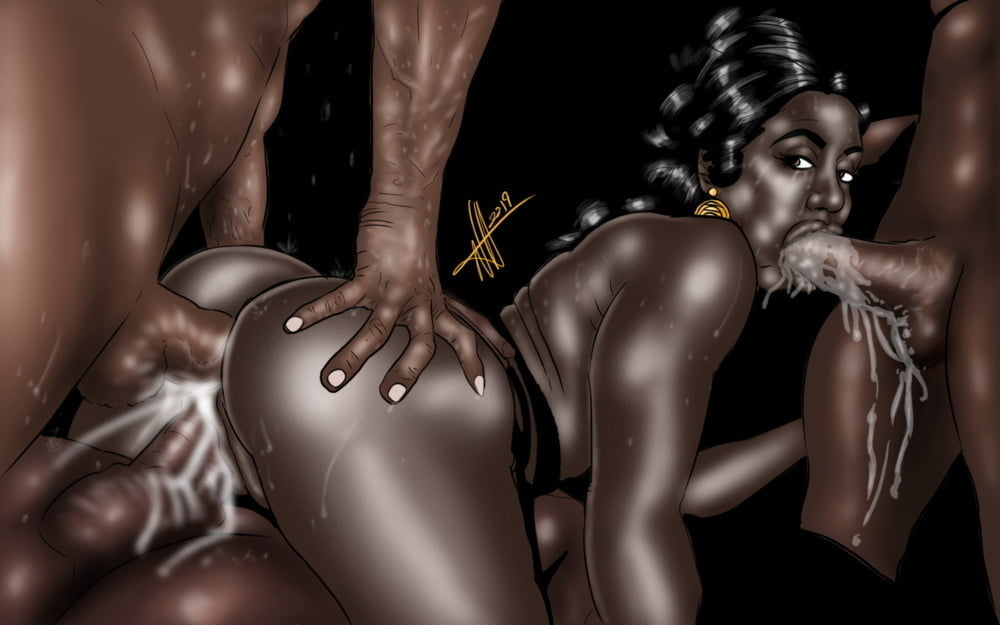 BLACK Toon SLUTs- 204 Pics