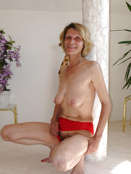 Naked older skinny women