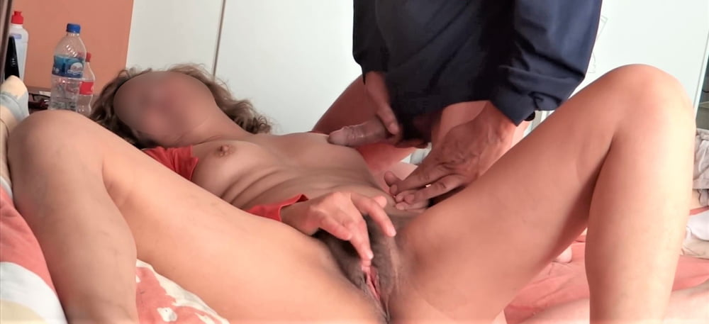 Cumshots on my wife, check out her videos too - 50 Pics