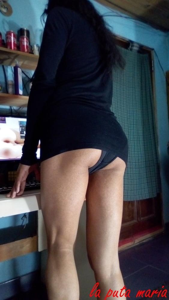La whore maria new black dress first part - 37 Pics