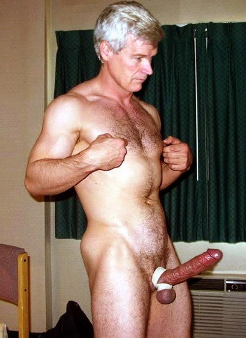Naked Short Old Guy