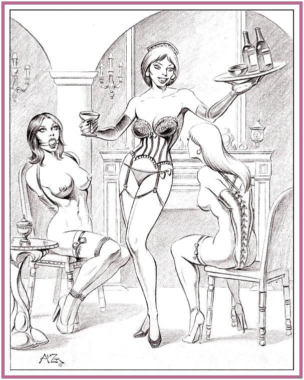 Строгая домоуправительница бдсм рисунки, булки анал фото