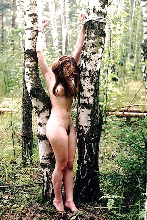 Naked Chopping Wood