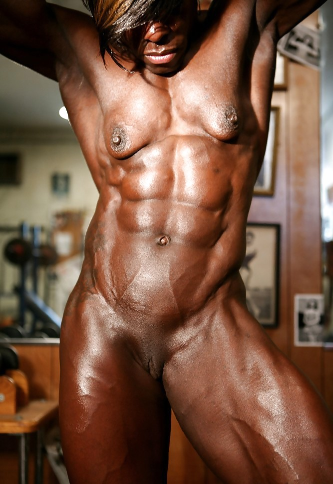 Nude Muscle Man With Hard Penis