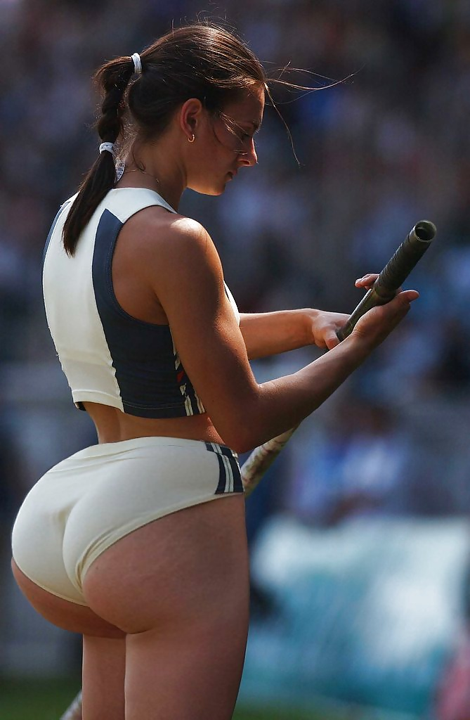 This olympic babe's ass is cute