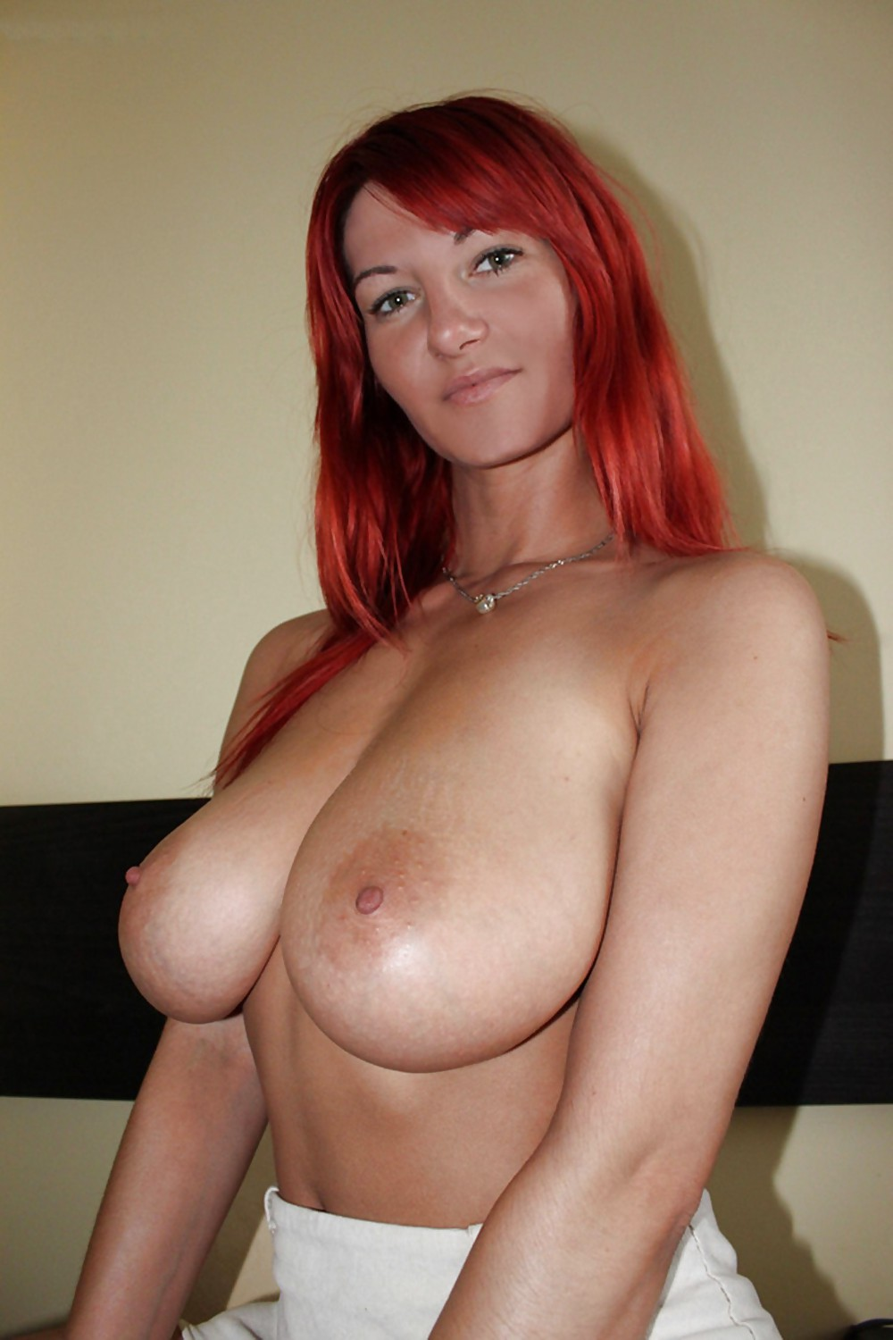 Red Head Milf Stockings