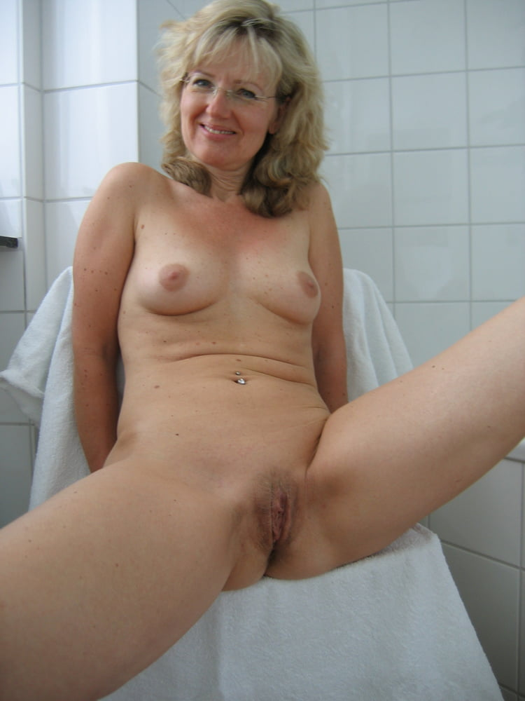 Mature women caught masterbating