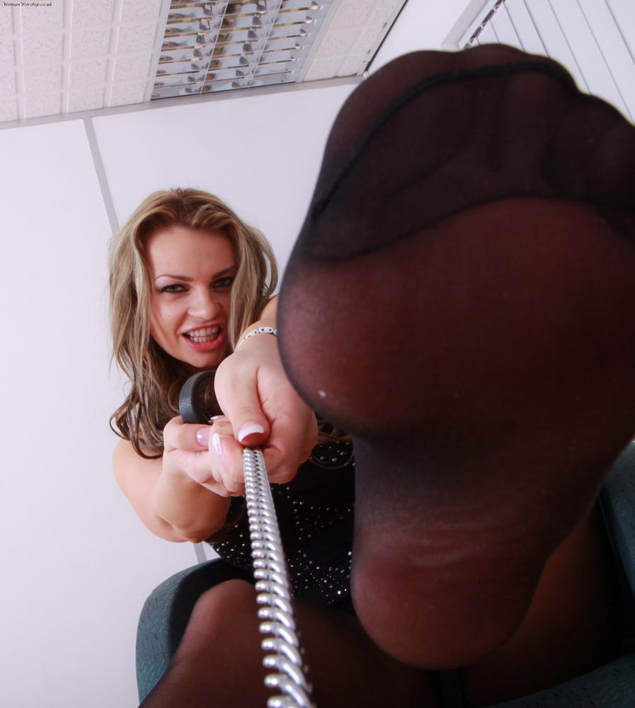 Femdom anal butt plug training boy