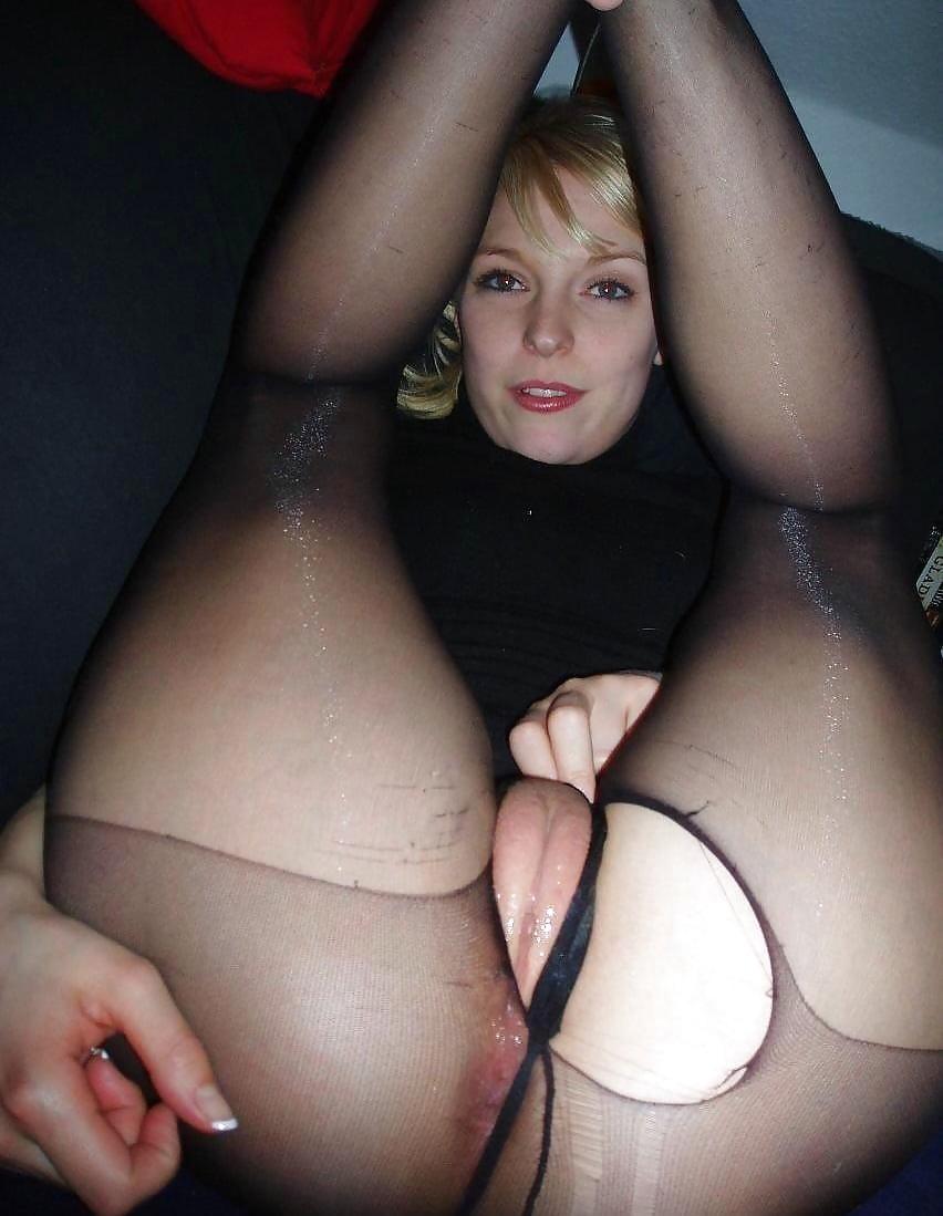 домашнее порно фото в колготках чулках белье быть искренним