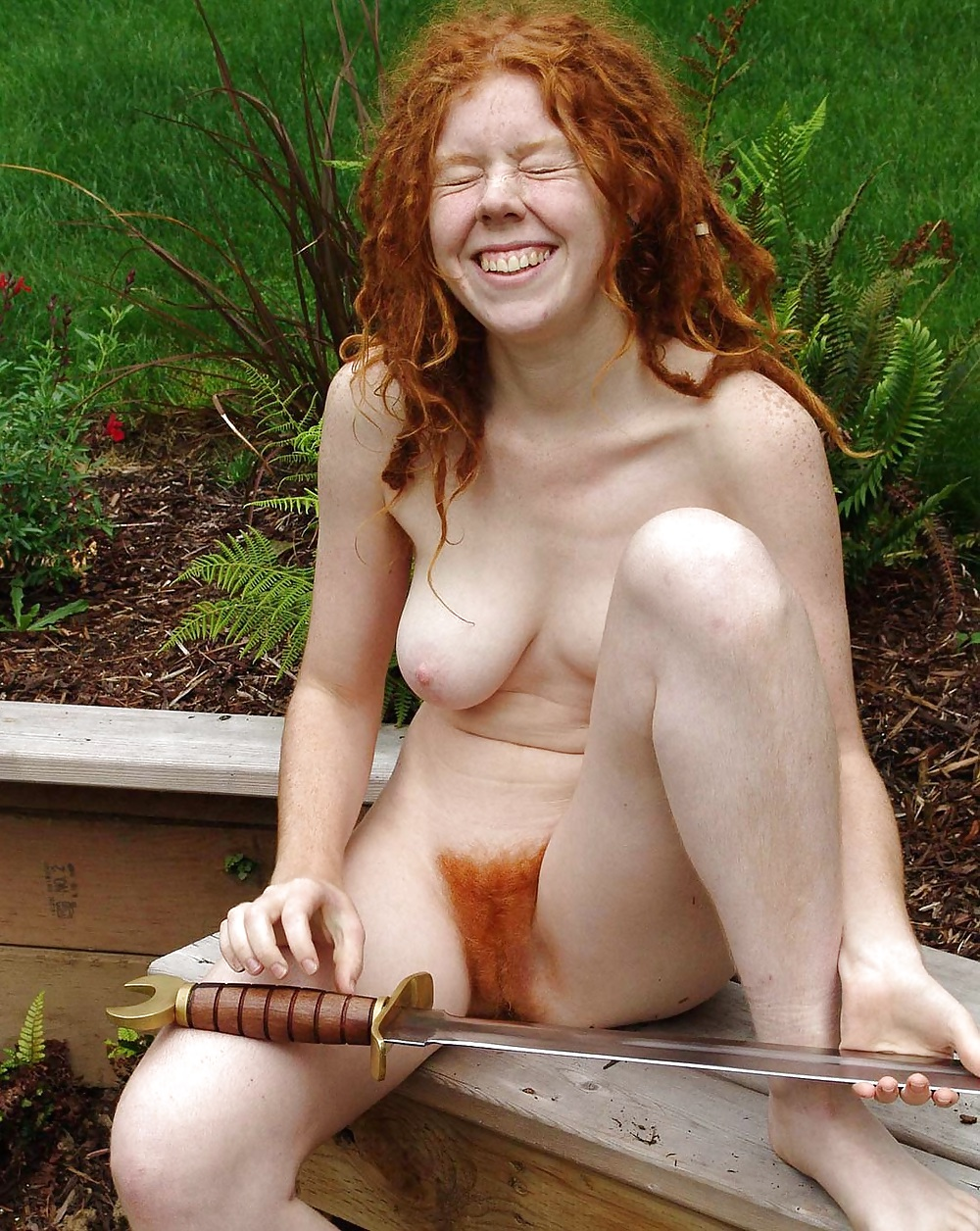 hairy-female-redhead-nudist
