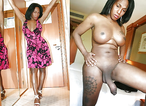 Real shemale tranny dreesed up