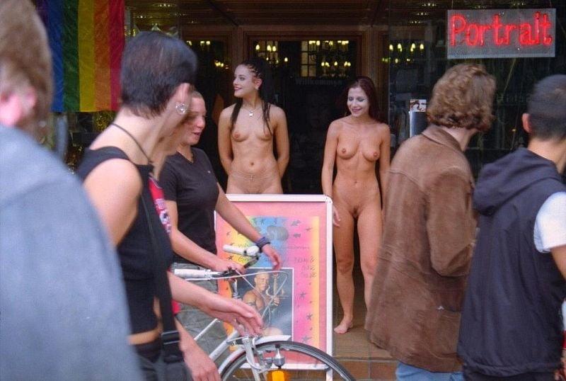 Naked on web cam