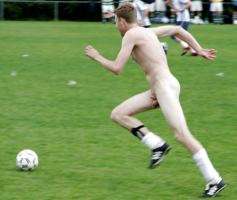 Real soccer players nude, flat chested heels