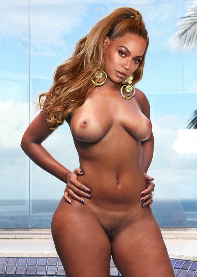 Beyonce and a girl nude