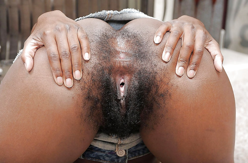 Pull That Beautiful Black Pussy Hair